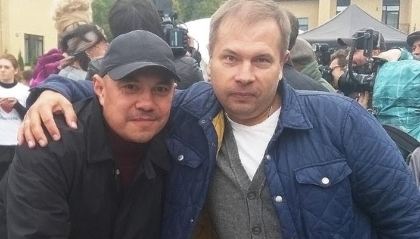 Костя Дзю и Сергей Балаев